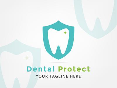 Simple Logo Dental Protect
