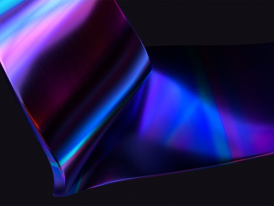 Abstract 3D Anodized Metal Wallpaper metal metalic wallpapers graphic design adobedimension dark shape curves 3d wallpaper abstract
