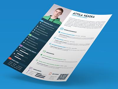 Resume Design resume cv print a4 skills curriculum vitae