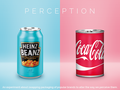 Heinz & Coca Cola - Swapping product packaging experiment mixed up experiment can heinz coca cola design swapping swap packaging