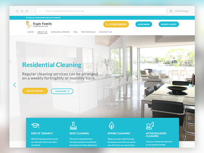 House Cleaning Services - WordPress Web Design house cleaning cleaning services graphic design webdesigner website website design web design wordpress