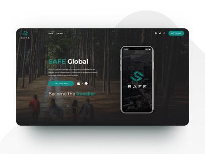 Safety App - Web Design