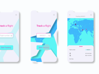 Daily UI #020 - Location Tracking