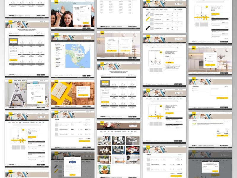 BUILDERS WEB app web typography design sketch ux ui