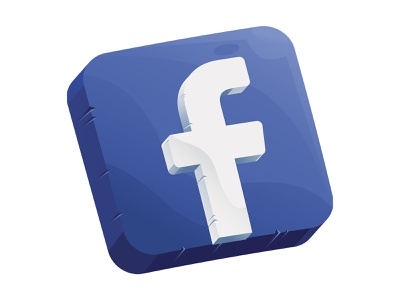 Facebook Illustration with a Twist vector illustration design art website ux uiux uxdesign uidesign logo facebook character graphicdesign icons vector graphic illustration design