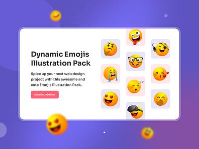Dynamic Emojis icons emotion character free illustration illustration emoji emojis