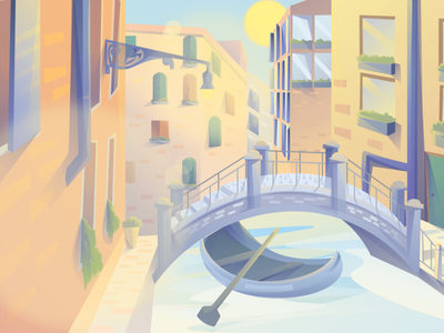 Italy (day-night-sunset) Scenic Illustrations landmarks pixel true free png beautiful background background illustrations free illustrations