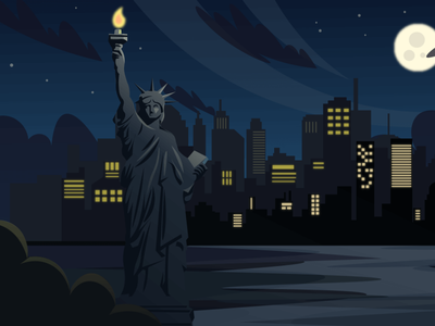 USA (day-night-sunset) Scenic Illustrations landmarks pixel true free png beautiful background background illustrations free illustrations