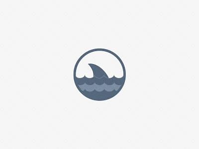 Shark logofolio minimal sea icon sport identity symbol mark brand logo shark