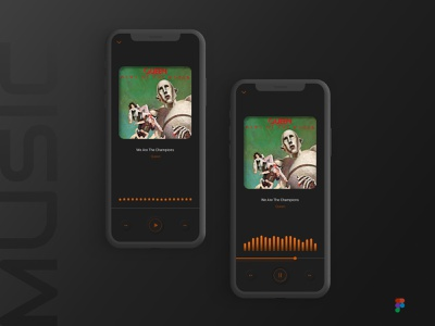 Neumorphic Music Player Animation figma animation ux design ui design music player ui neumorphism