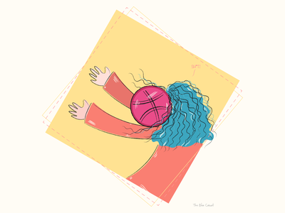 Hello Dribbble! adobe illustrator injured player character hello dribbble hellodribbble illustration