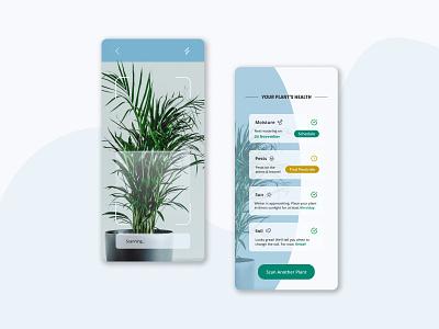 Foliage: Plant Care App prototype figma mobile app uxui ui ux uidesign uxdesign plant health plant mobile uiux mobile ui plant care app