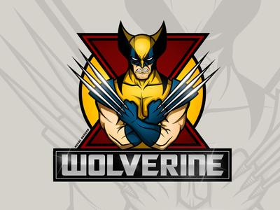 X-Men Wolverine Classic Suit Logo