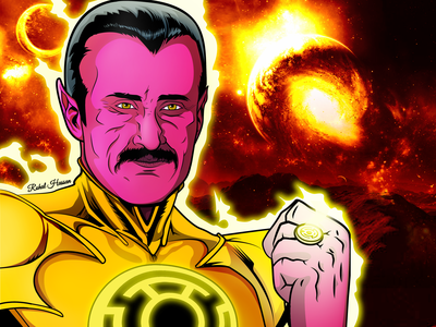 Chacha Sinestro Illustration