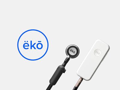 Eko illustrator vector eko echo simple branding and identity visual identity logo health healthcare branding