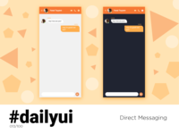 Direct Messaging - Daily UI Challenge #013