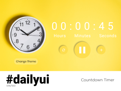 Countdown Timer - Daily UI #014