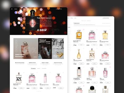 Perfume shop Aromo