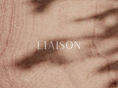 Liaison Logo branding agency brand design branding logo concept logo design logo