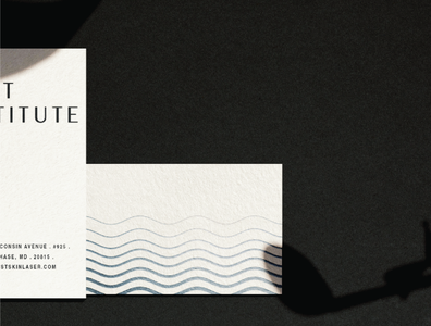 West Institute Business Card
