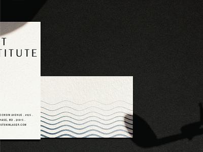 West Institute Business Card branding agency brand design branding business card design business cards print design print