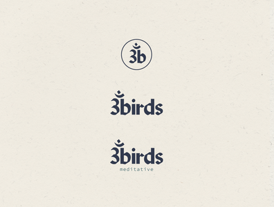 3birds Meditative Logo Suite