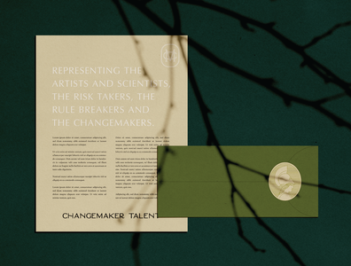 Changemaker Talent Stationery