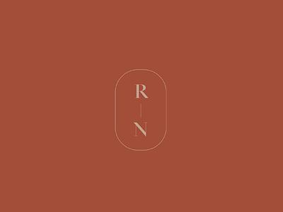 Modern Monogram typography brand design branding logo monogram design stationery design stationery wedding logo concept secondary logo icon monogram logo monogram