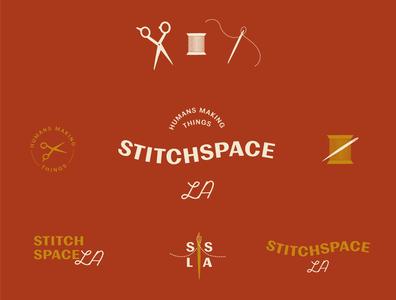 Stitchspace Logo Exploration