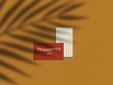 Stitchspace LA Business Cards