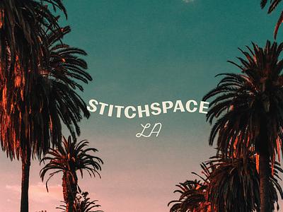 Stitchspace LA Primary Logo branding concept logo design logo logo concept branding agency branding brand design