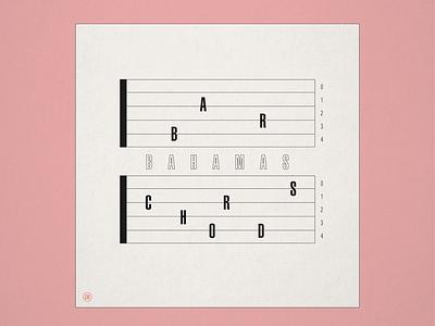 """10x19 No. 8 """"Bar Chords"""" by Bahamas bahamas vinyl 10x19 concept design conceptual concept album cover design album artwork album cover album art album"""
