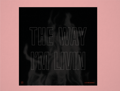 """10x19 No. 7 """"The Way I'm Livin"""" by Lee Ann Womack"""
