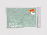 Big Bend National Park, Texas - Postcard Project