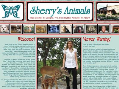 Sherry's Animals