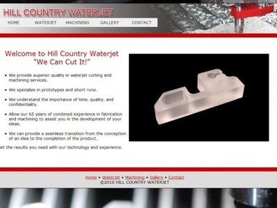 Hill Country Water Jet