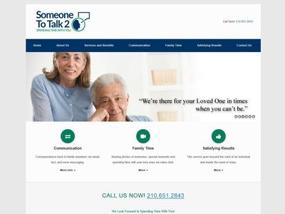 Someone To Talk 2 Website