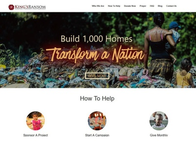King's Ransom Foundation Website