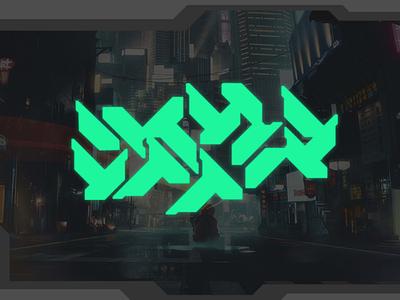 CREATE CYBERPUNK TYPOGRAPHY ON FIVERR futuristic logo futuristic cyberpunk typography logo cyberpunk