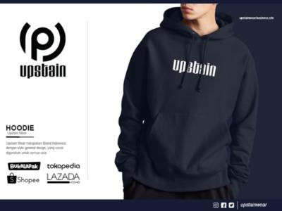 Premium Hoodie Glow In The Dark Upstain Wear Brand Indonesia