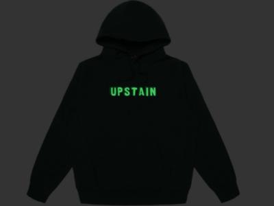 Upstain Wear Hoodie Glow In The Dark Design