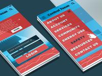 Mobile UI (Homepage Solution 2)