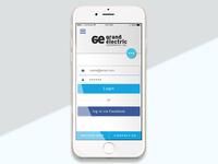 Mobile UI (Homepage Solution 12)
