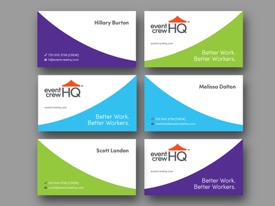 EventCrewHQ - Business Cards