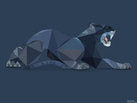 Low Poly Panther