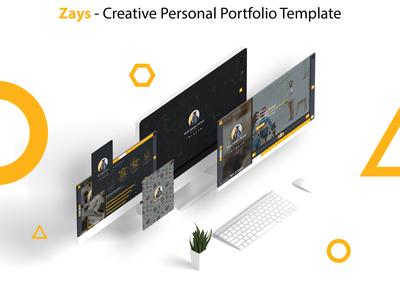 Zays - Creative Personal Portfolio Template