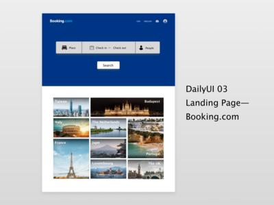 Daily UI 03_Landing Page