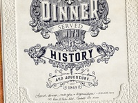 Lunch & dinner served with history & adventure. (The Standard)