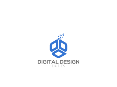 Digital Design Dudes Website Logo Design