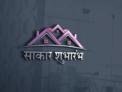 Indian build construction company logo design